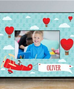Personalized Up In the Air Kids Photo Frame