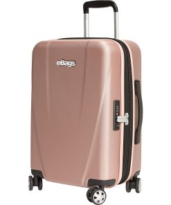 "eBags Allura 22"" Expandable Hardside Carry-On Rose Gold - eBags Hardside Carry-On"