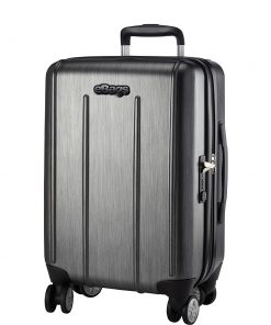 eBags EXO 2.0 Hardside Spinner Carry-On Brushed Graphite - eBags Hardside Carry-On
