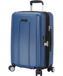 eBags EXO 3.0 EXP Hardside Carry-on Spinner Metallic Blue - eBags Hardside Carry-On