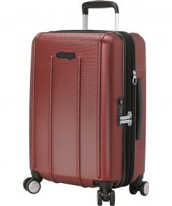 eBags EXO 3.0 EXP Hardside Carry-on Spinner Metallic Red - eBags Hardside Carry-On
