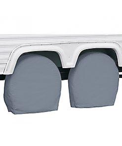Classic Accessories Grey RV Wheel Covers