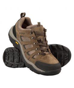 Field Mens Waterproof Vibram Shoes - Green
