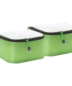 eBags Hyper-Lite Packing Cube- Small 2pc set Green - eBags Travel Organizers