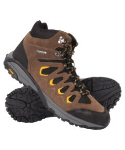 Ambleside Vibram Mens Waterproof Boots - Brown