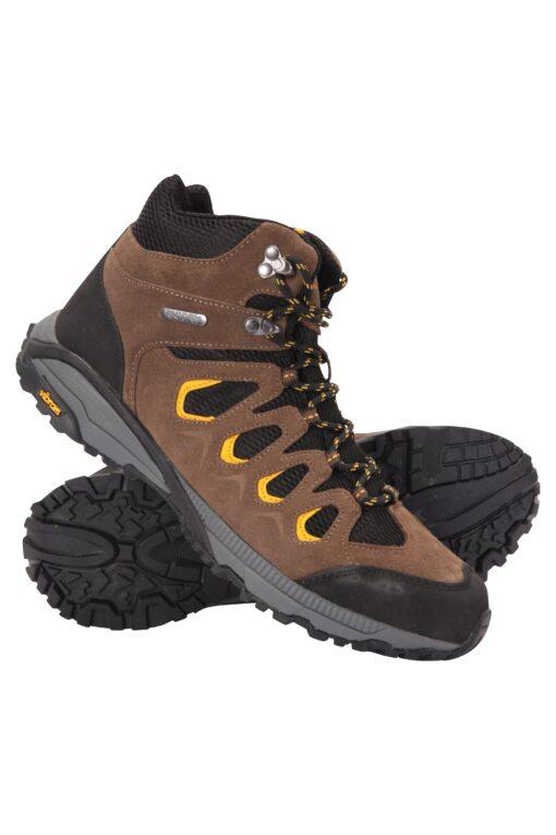 Ambleside Vibram Mens Waterproof Boots - Brown