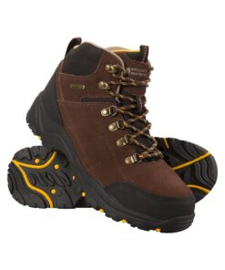 Boreal Mens Waterproof Boots - Brown
