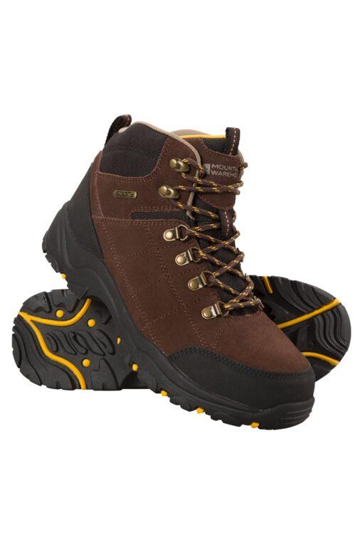 Boreal Mens Waterproof Boots - Brown