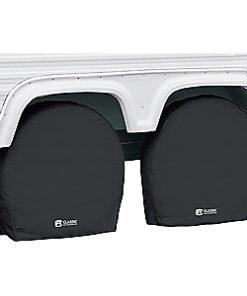 Classic Accessories Black RV Wheel Covers