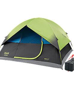 Coleman Sundome Dark Room 6-Person Dome Tent