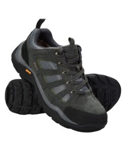 Field Mens Waterproof Vibram Shoes - Grey