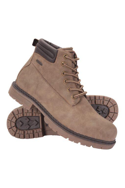 Gorge Winter Waterproof Mens Boots - Brown