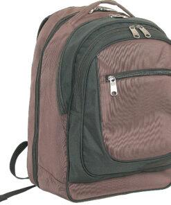 Netpack Easy Check Computer Backpack Brown - Netpack Business & Laptop Backpacks