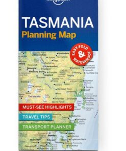 Tasmania Planning Map, Edition - 1 by Lonely Planet
