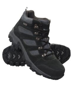 Voyage Mens Waterproof Boots - Black