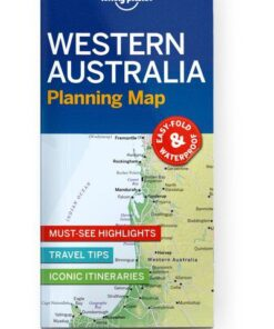 Western Australia Planning Map, Edition - 1 by Lonely Planet