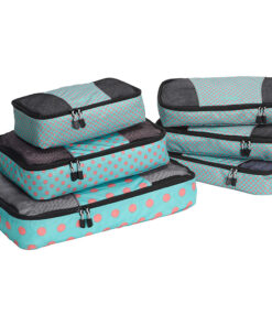 eBags Classic Packing Cubes - 6pc Value Set Green Dots Anyone? - eBags Travel Organizers
