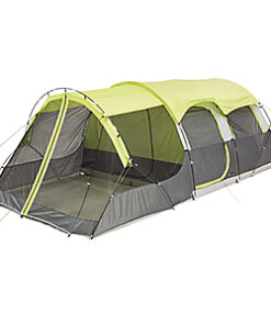 Bass Pro Shops Eclipse 10-Person Tunnel Tent with Screen Porch - night