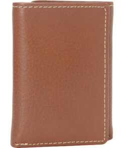 Buxton Metropolis Three Fold Wallet Tan - Buxton Men's Wallets