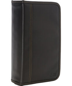 Case Logic 92 Capacity CD Wallet Black Koskin - Case Logic Electronic Cases