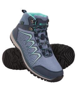 Constellation Womens Waterproof Boots - Blue