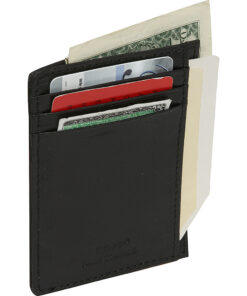 Dopp Regatta 88 Series Front Getaway Pocket Black - Dopp Men's Wallets