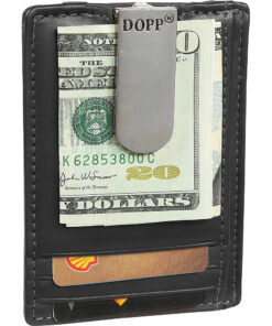 Dopp Regatta 88 Series Front Pocket Wallet Black - Dopp Men's Wallets