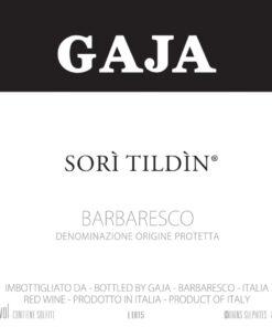 Gaja 2016 Sori Tildin - Nebbiolo Red Wine