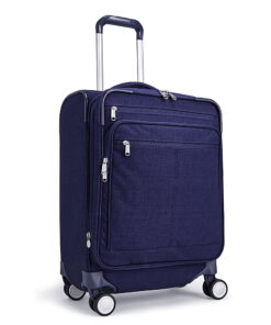 eBags Piazza Carry-on Spinner Brushed Indigo - eBags Softside Carry-On