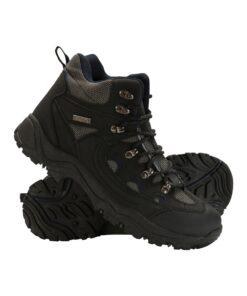 Adventurer Mens Waterproof Boots - Black