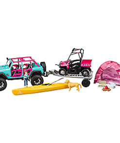 Bass Pro Shops Kids' Deluxe Jeep Camping Adventure Playset - camo