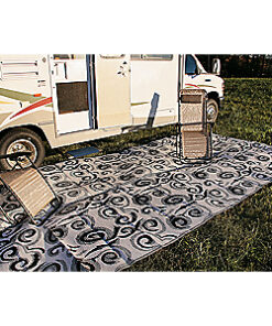 Camco RV Outdoor Mats - Black