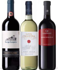 Italian Wine Gift Set - Wine Collection Gift