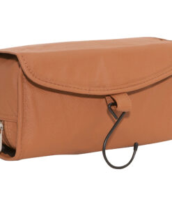 AmeriLeather Leather Travel Bag Brown - AmeriLeather Toiletry Kits