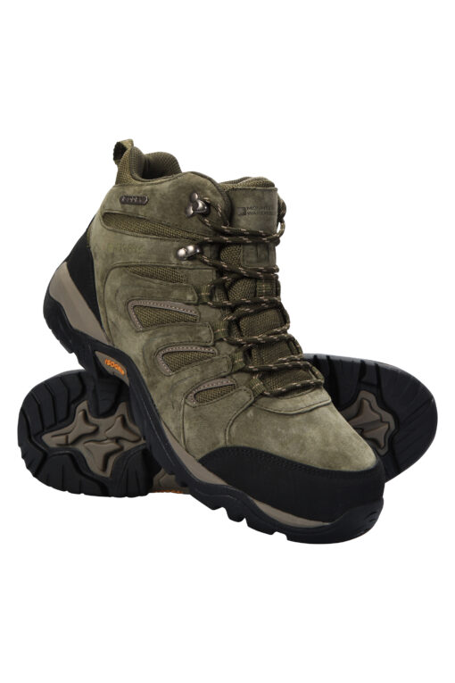 Aspect IsoGrip Mens Waterproof Boots - Green