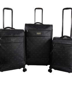Original Penguin Luggage Original 3 Piece Expandable Spinner Luggage Set Mini Pete - Original Penguin Luggage Luggage Sets