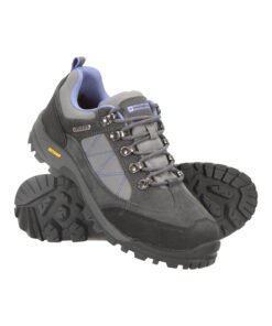 Storm Womens Waterproof Iso-Grip Shoes - Grey