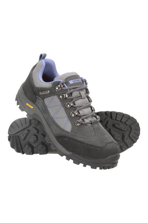 Storm Womens Waterproof Iso-Grip Shoes - Grey
