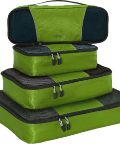 eBags Classic Packing Cubes - 4pc Classic Plus Set Grasshopper - eBags Travel Organizers