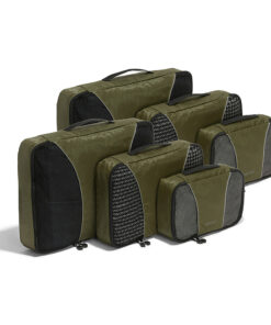 eBags Classic Packing Cubes - 6pc Sampler Set Sage Green - eBags Travel Organizers