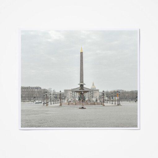 Deserted Paris