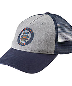 Bass Pro Shops Camping Dept. Mesh-Back Cap for Kids - Grey/navy