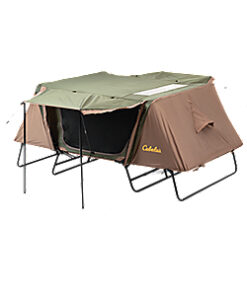 Cabela's Bass Pro Shops Double Deluxe Tent Cot - Green/Brown