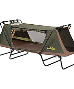 Cabela's Bass Pro Shops Single Deluxe Tent Cot - Green
