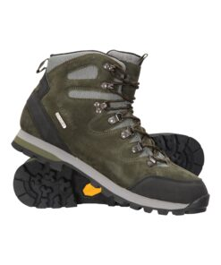 Excursion Waterproof Vibram Mens Boots - Green