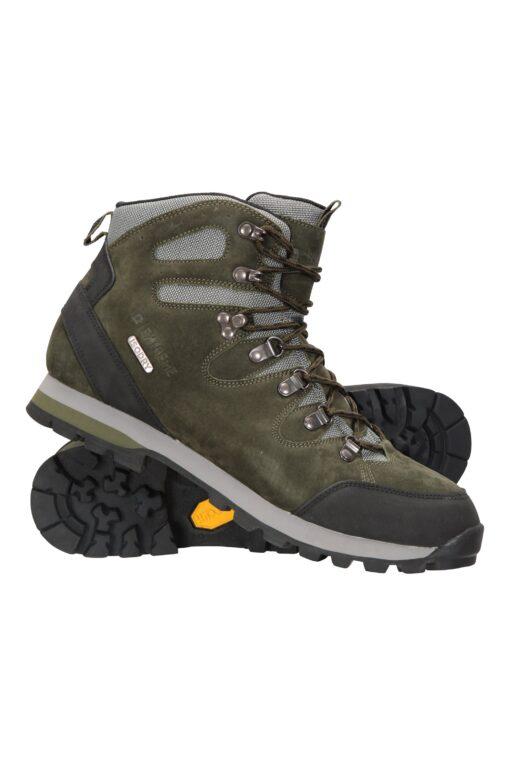 Excursion Waterproof Vibram Mens Boots - Green