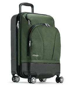 "eBags Mother Lode 22"" Carry-On Spinner Army Green - eBags Hardside Carry-On"