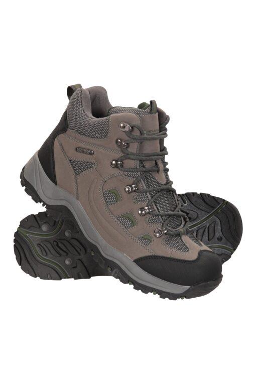 Adventurer Mens Waterproof Boots - Green