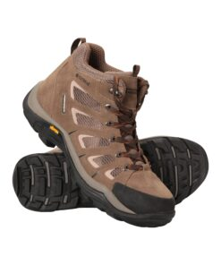 Field Waterproof Mens Wide-Fit Vibram Boots - Brown
