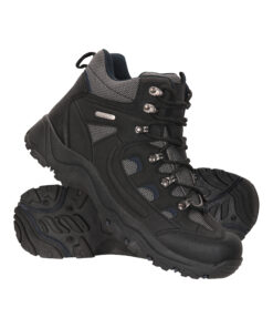 Adventurer Mens Waterproof Boots - Black